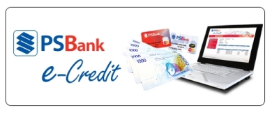 PSbank electronic credit card