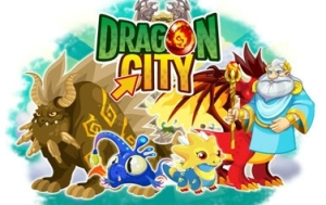 dragon city facebook logo