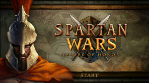 Spartan Wars Login page