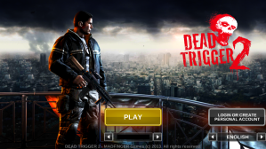 Dead Trigger 2 Login Page