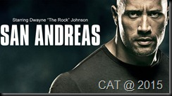 san andreas the rock dwayne johnson movie poster